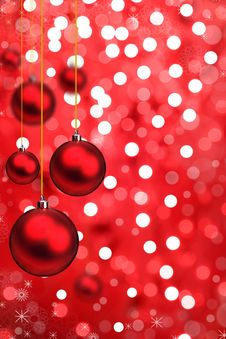 Free Christmas Background Royalty Free Stock Photography - 16513997