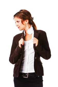 Free Young Attractive Businesswoman Royalty Free Stock Image - 16516106