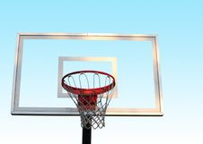 Free Basketball Hoop Royalty Free Stock Photos - 16516878