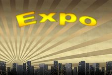 Free Expo, Illustration Royalty Free Stock Images - 16516899