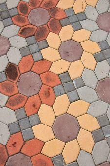 Free Brick On Ground Royalty Free Stock Image - 16517136