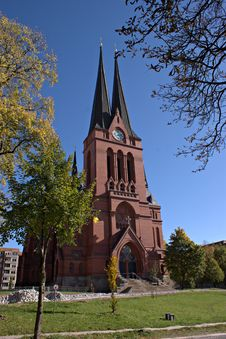 Free St. Mark S Church In Chemnitz, Germany Stock Image - 16517181