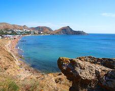 Free Landscape View Of Orjonikidze, Crimea, Ukraine Royalty Free Stock Photo - 16517285