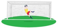 Free Goalkeeper Royalty Free Stock Photos - 16517298