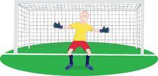 Free Goalkeeper Stock Photography - 16517302