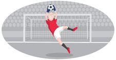 Free Goalkeeper Royalty Free Stock Image - 16517306
