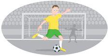 Free Goalkeeper Royalty Free Stock Photos - 16517328