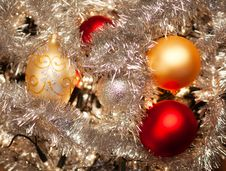 Free Baubles And Holly Royalty Free Stock Photo - 16517555