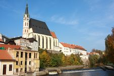 UNESCO - Town Cesky Krumlov Royalty Free Stock Images