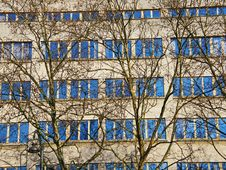 Sky In The Windows Stock Image