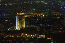 Free Urban City By Night Stock Photo - 16519740