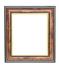 Free Empty Wooden Frame Royalty Free Stock Images - 16519859