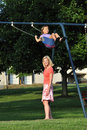 Free Swinging In The Park Royalty Free Stock Image - 16520336