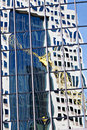 Free Glass Office Building With Reflections Stock Photography - 16521242