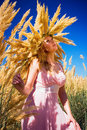Free Young Woman In The Field Royalty Free Stock Photos - 16526848