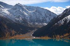 Free Mountain Lake Royalty Free Stock Photos - 16520518