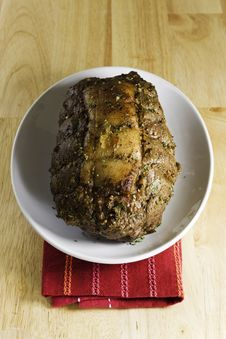 Free Roast Beef Royalty Free Stock Photography - 16520657