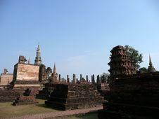 Sukhothai Historic Site, Thailand Royalty Free Stock Image