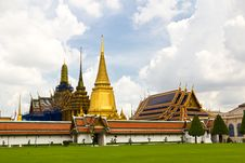 Free Thai Temple Church Royalty Free Stock Photo - 16521495