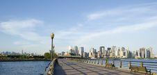Free Downtown Manhattan Skyline Royalty Free Stock Photos - 16521948