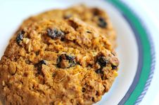 Free Delicious Chocolate Chip Cookie Stock Photo - 16521980
