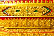 Free Traditional Thai Style Art Stock Photos - 16522423