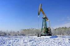 Free Oil Pump Royalty Free Stock Photography - 16522727