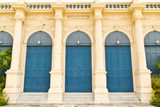 Free Traditional Euro Style Building Doors Stock Photos - 16523003