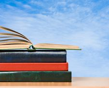 Free Pile Of Books Stock Images - 16523134