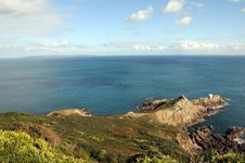 View From Jerbourg Point On Guernsey Stock Photography