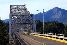 Free Bridge Of The Gods, Oregon. Stock Images - 16523944