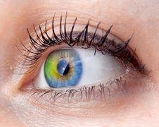 Free Abstract Human Eye Royalty Free Stock Photos - 16524068