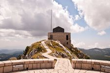 Free Njeguš Mausoleum On The Top Of The Jezerski Vrh Stock Photography - 16524422