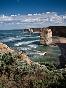 Free The Great Ocean Road View Stock Image - 16525041