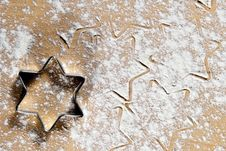 Free Star Shape In The Flour Stock Image - 16525141