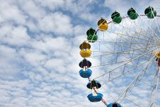 Free Ferris Wheel Royalty Free Stock Photos - 16525888