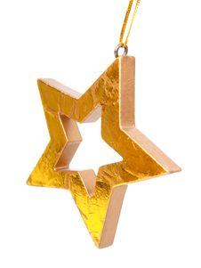 Free Golden Christmas Star Royalty Free Stock Photo - 16526435