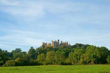 Free Castle On The Hill Royalty Free Stock Image - 16526936