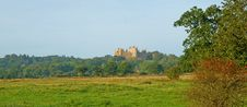 Vale Of Belvoir Castle Stock Photo