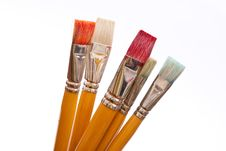 Free Paint Brushes Royalty Free Stock Images - 16527039