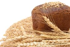 Free Bread With Wheat And Ears Stock Photography - 16527272