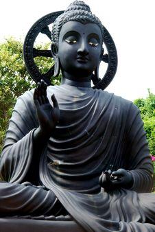 Buddha At Wat Koh Loy Sri Racha