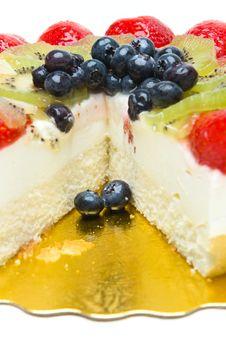 Free Fruit Cake Royalty Free Stock Photo - 16527715