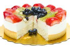 Free Fruit Cake Stock Photography - 16527742