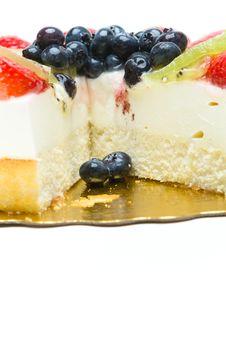 Free Fruit Cake Royalty Free Stock Photos - 16527748