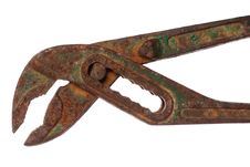 Free Rusty Old Pliers Royalty Free Stock Photography - 16527967