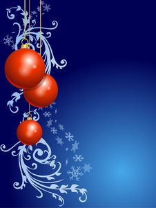 Free Christmas Ornamental Background Royalty Free Stock Image - 16528146