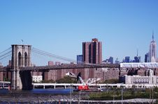 Free Brooklyn Bridge From Brooklyn Promnade Stock Photo - 16528520