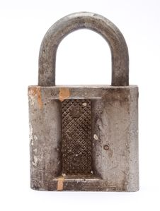 Free Old Padlock Royalty Free Stock Photos - 16528828