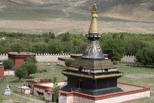 Asia Tibetan Monastery Stock Image